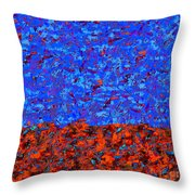 1380 Abstract Thought Throw Pillow