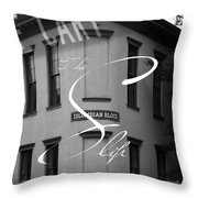 13th And Cary Throw Pillow