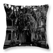 13th House On 13th Street Throw Pillow