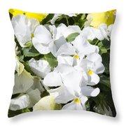 ,, Flowers ,, Throw Pillow