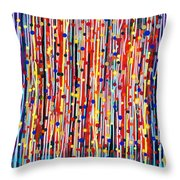 14-19 Purple Forest Throw Pillow
