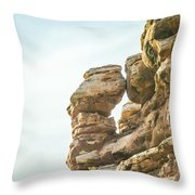 Arches National Park  Moab  Utah  Usa Throw Pillow