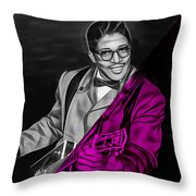 Bo Diddley Collection Throw Pillow