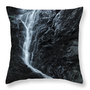 Cedar Creek Falls In Mount Tamborine Throw Pillow