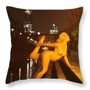 Elle Black Throw Pillow