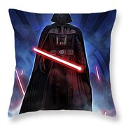 Episode 1 Star Wars Poster Throw Pillow