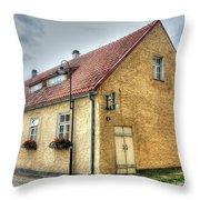 Cesu Latvia Throw Pillow