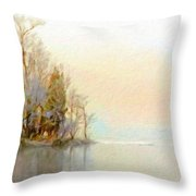 Landscapes Paintings Throw Pillow
