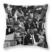 Martin Luther King, Jr Throw Pillow