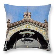 Montevideo, Uruguay Throw Pillow