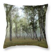 New Landscape Throw Pillow