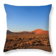 Sossusvlei Dunes Throw Pillow