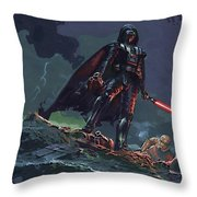 Star Wars Characters Art Throw Pillow