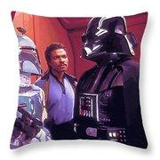 Star Wars Episode 1 Poster Throw Pillow