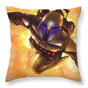 Star Wars On Poster Throw Pillow