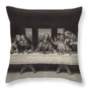 The Last Supper Throw Pillow