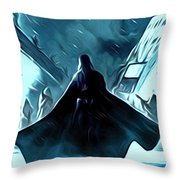Wars Star Poster Throw Pillow