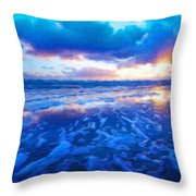 Landscape Nature Scene Throw Pillow