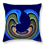 1408 Abstract Thought Throw Pillow