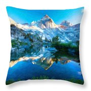 Nature Landscape Work Throw Pillow