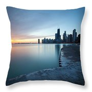 1415 Chicago Throw Pillow