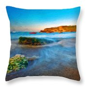 Landscape Definition Nature Throw Pillow