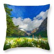 Landscape Nature Throw Pillow