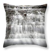 1452 South Elgin Waterfall Throw Pillow