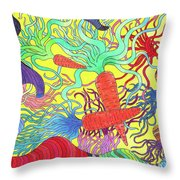 147 - Carrot Canyon Throw Pillow