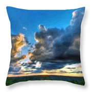 Art Landscape Nature  Throw Pillow