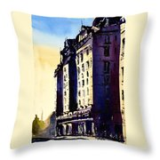 14th Street Dc Throw Pillow