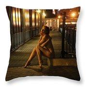 Anita De Bauch Throw Pillow