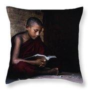Bagan - Myanmar Throw Pillow