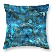 Beneath The Waves Series Throw Pillow