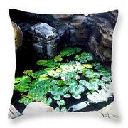 Brooklyn Garden Throw Pillow