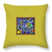 Digital Software Art Throw Pillow