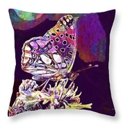 Insect Nature Live  Throw Pillow