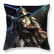 Movies Star Wars Art Throw Pillow