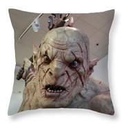 New Zealand - Azog, Lord Of The Rings Throw Pillow