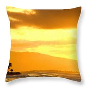 Original Landscape Paintings Throw Pillow