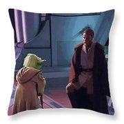 Original Star Wars Poster Throw Pillow