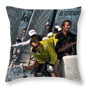Regatta Action Throw Pillow