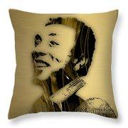 Smokey Robinson Collection Throw Pillow