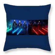 Star Wars 3 Poster Throw Pillow