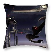 Star Wars Episode 6 Poster Throw Pillow
