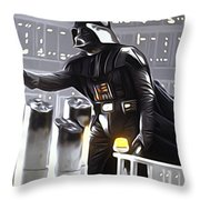 Star Wars The Poster Throw Pillow