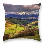 The Land Of Ukraine Throw Pillow