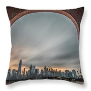 15 Years Later  Archway Of Rememberance Throw Pillow