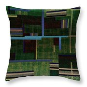 1522 Abstract Thought Throw Pillow