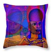 1532 Egyptian  Memories Throw Pillow